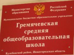 Гремячевская средняя школа